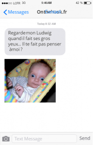 texto-bébé